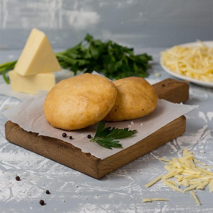 Пончини с сыром и зеленью