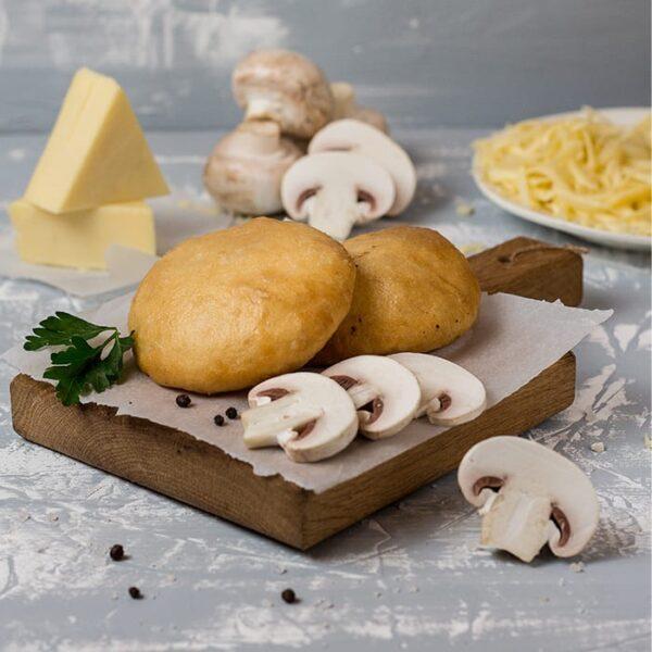 Пончини с грибами и сыром