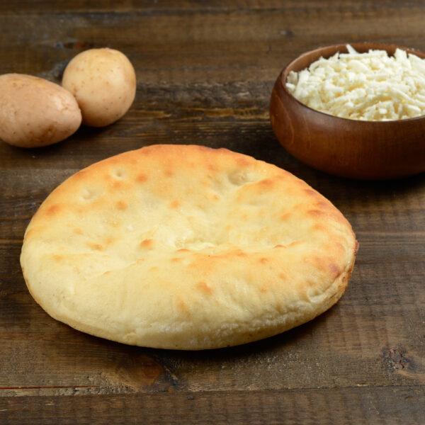 Мини пирог с сыром и картошкой